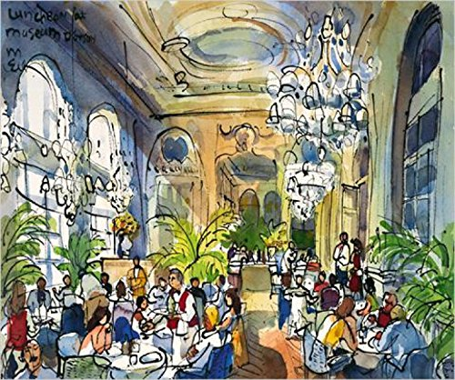 Posters: Michael Leu Poster Art Print - Luncheon At Musée D'orsay (24 x 20 inches) Michael Leu Poster