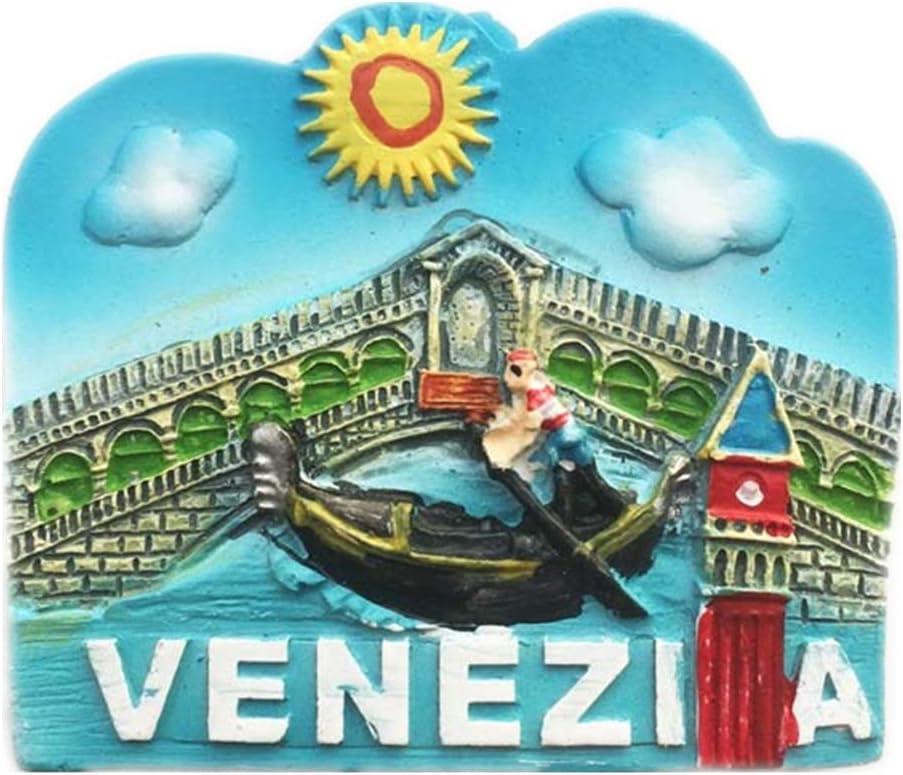 Italie r/éfrig/érateur Aimant ouvre-Bouteille m/étal 3D Ville Voyage Voyage Souvenir colleciton Autocollant