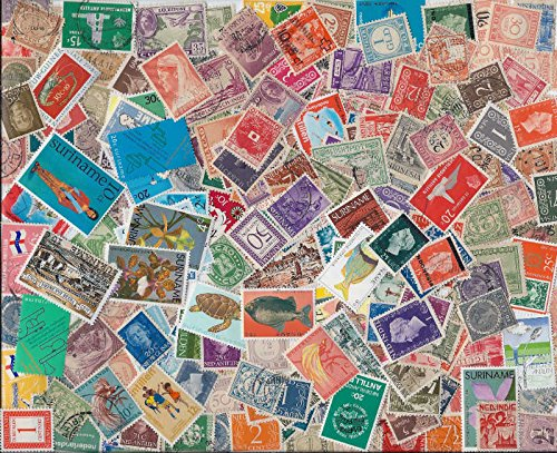 USPS WITHDREW-6-21-18-Valuable Netherlands Colonies Stamp Collection - 300 Different Stamps