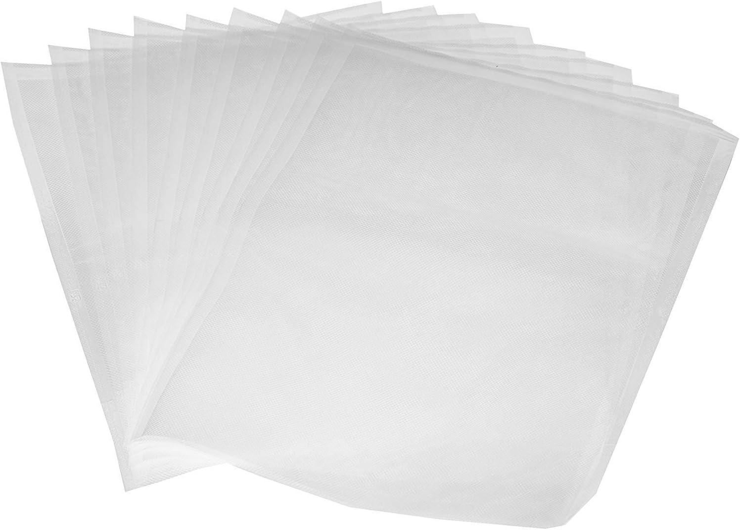 Amazonbasics - Juego de 50 bolsas para envasadoras al vacío, 22 cm x 30 cm