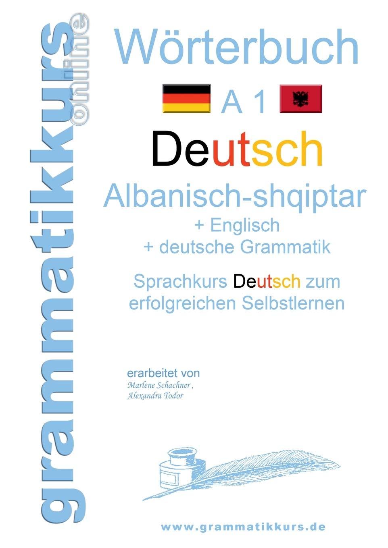 Wörterbuch Deutsch   Albanisch   Englisch A20 Lernwortschatz A20 ...