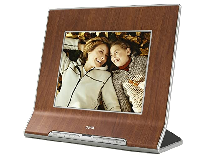 Amazon.com : CEIVA 8-inch Digital Photo Frame with Card Reader ...