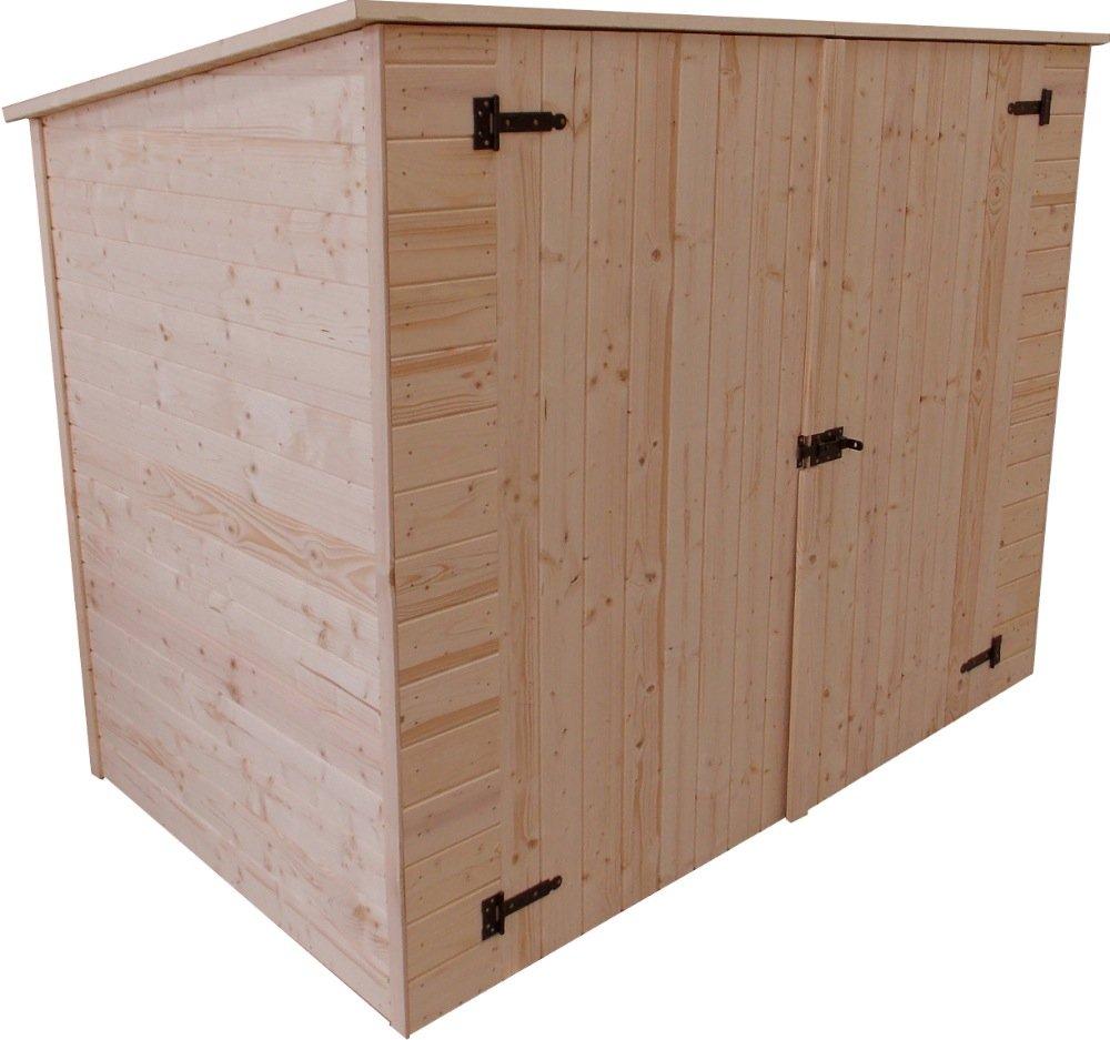 Habrita - Cobertizo de pared para bicicletas y mobiliario de ...