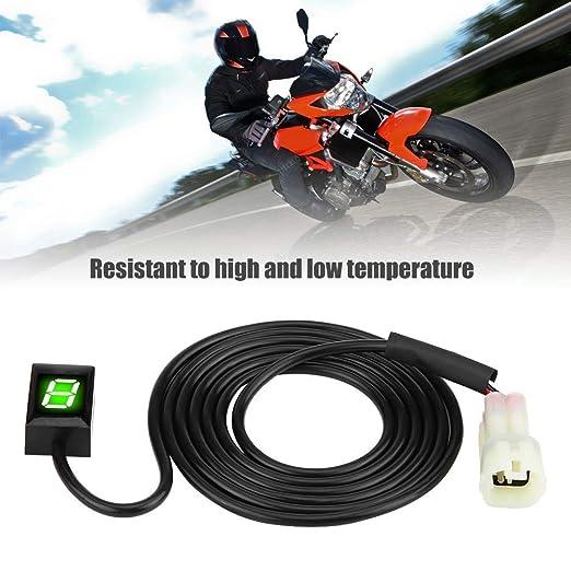 Indicador de la motocicleta Engranaje-Indicador LED ...