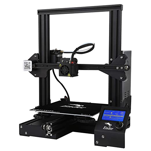 JIANGJIE 3D Impresora Ender 3 Aluminio de Alta precisión DIY ...