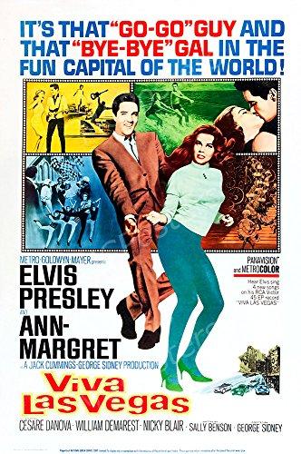 "MCPosters Viva Las Vegas Elvis Presley GLOSSY FINISH Movie Poster - MCP499 (24"" x 36"" (61cm x 91.5cm))"