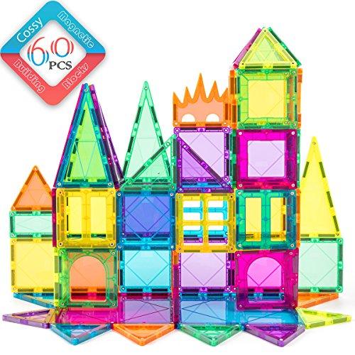 100pcs Magnetic Construction Building Block Kids Educational DIY Toy Multi-color