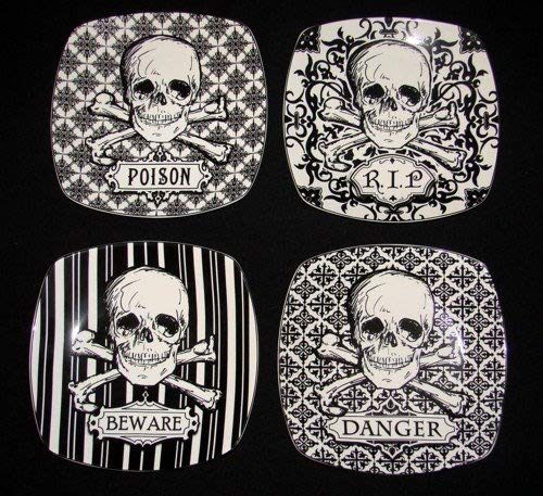 222 Fifth Halloween Skulls Crossbones 8