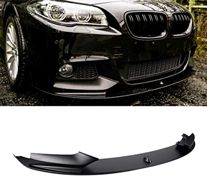 Made in the USA! Extremely Durable Guaranteed Fitment KBD Body Kits Compatible with BMW 5 Series F10 M5 2011-2015 VKM Style 1 Piece Flexfit Polyurethane Front Lip Easy Installation