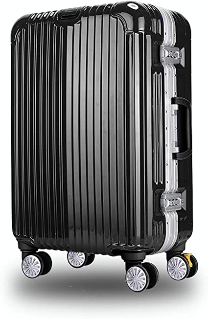 4 Colors Luggage Sets Clamshell Cup Holder DR Pulley Luggage Suitcases Aluminum Frame Password Trolley case Stylish Scratch-Resistant Brushed Hidden Hook Large Capacity Suitcase Various Sizes
