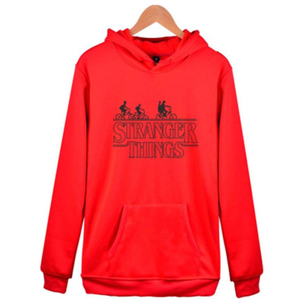 Discovery Unisex Inspired Stranger Things Season Sweatshirt Thriller Gift Hooded Sweatshirt Funny Slogan Printed Hoodie