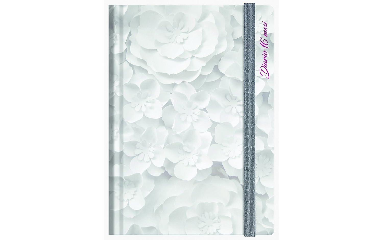 NOBRAND–Diario 16meses paperflowers 13x 17,8cm–ba-521352
