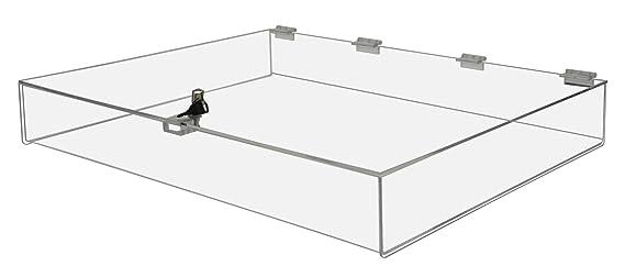 Amazon Com Marketing Holders Locking Security Show Case Safe Box