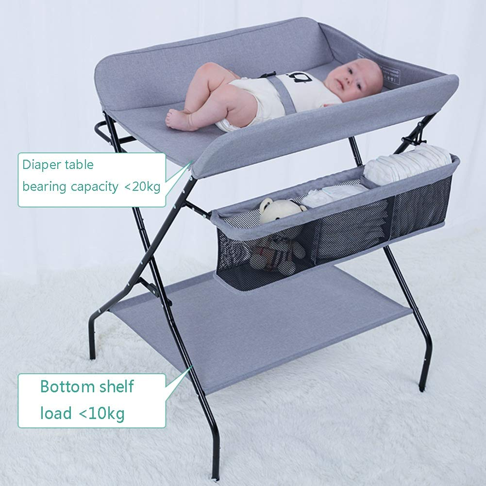 - Fold Baby Changing Table Bathing Station Newborn Baby Cot Portable