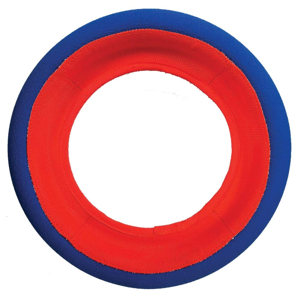 Chuckit! Fetch Wheel Toy for Dogs Rolling Toy Buoyant Bright Colors 2 Sizes
