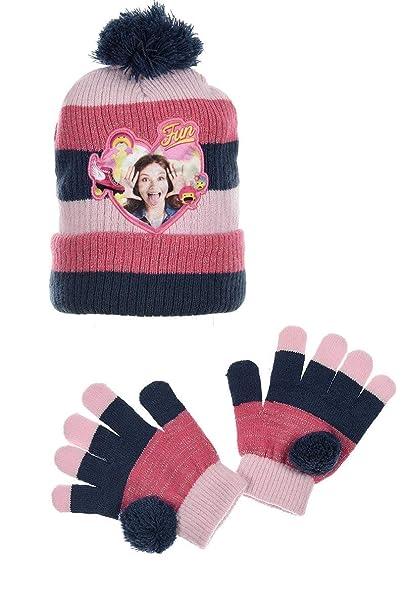 Soy Luna Schlauchschal und Handschuhe