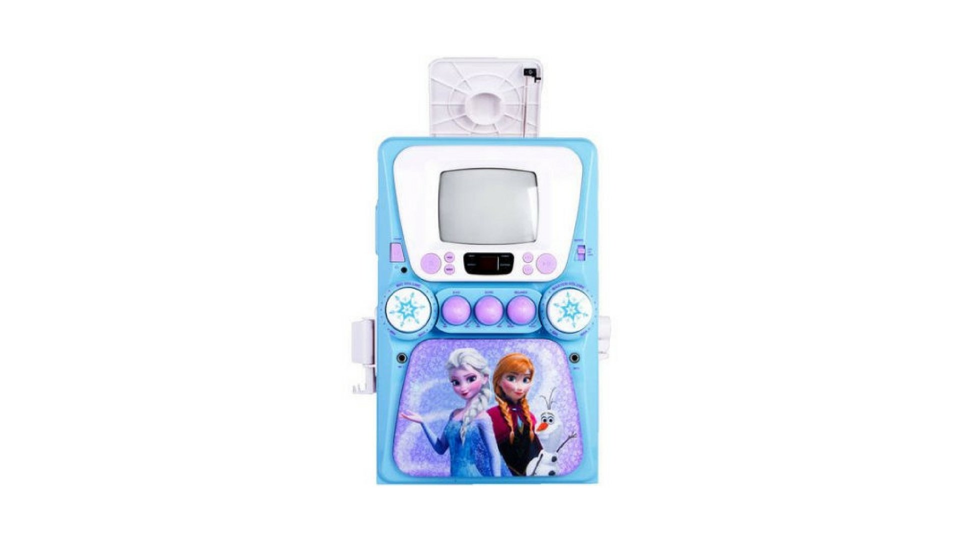 Karaoke Machine with Monitor plus Bonus CD+G and Lyric Booklet