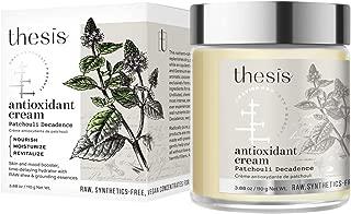 product image for Thesis Organic Body Cream - Patchouli Decadence - Antioxidant Moisturizer - Raw Shea Butter, Coconut, Jojoba, Geranium, Lemongrass