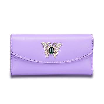 MaiJin Moda PU Leather Monederos de Mujer Pequeña: Amazon.es ...