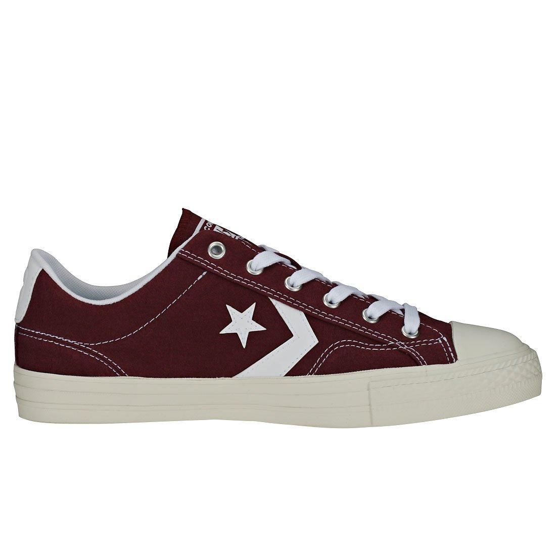 Converse Unisex-Erwachsene Lifestyle Star Player Mehrfarbig Ox Sneakers, rot  Mehrfarbig Player (Dark Burgundy/Weiß/Weiß 613) c54cf3