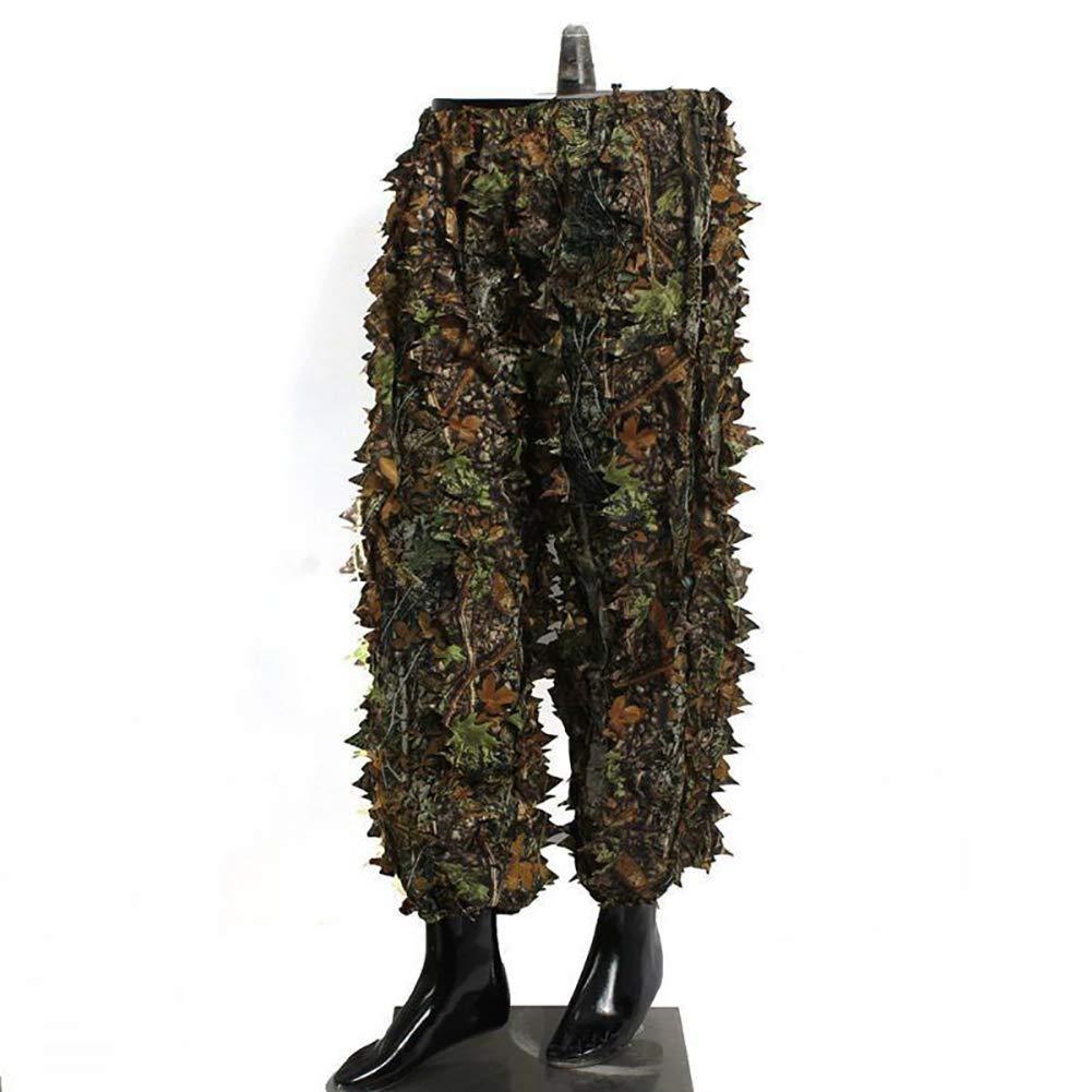 Amazon.com: YTBLF - Traje de camuflaje con hojas en 3D ...