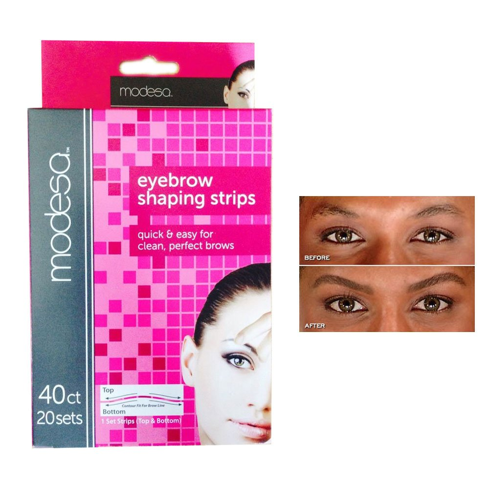 Amazon 40 Eyebrow Shaping Strips Mini Wax Hair Removal Shapers