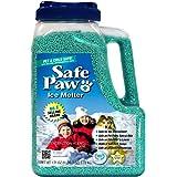 Safe Paw, Child Plant Dog Paw & Pet Safe Ice Melt -8lb, 100% Salt/Chloride Free -Non-Toxic, Vet Approved, No Concrete Damage,