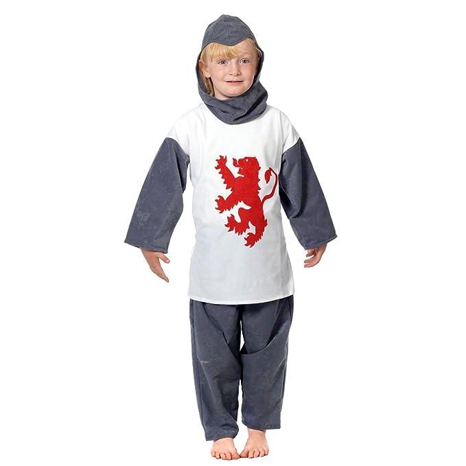 Braveheart - Disfraz de caballero para niño, talla 128 cm: Amazon ...