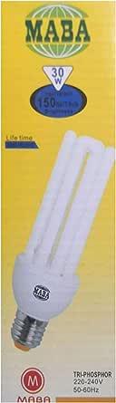 مابا مصباح فلوريسينت انبوب,اصفر