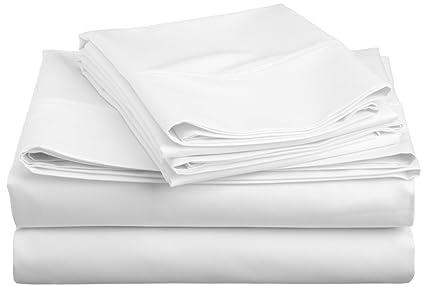 Cotton Blend 600 Thread Count , Deep Pocket, Soft, Wrinkle Resistant 3 Piece