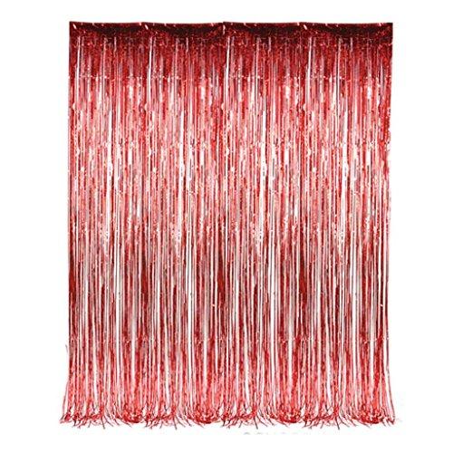 Foil Tinsel Fringe Curtain order