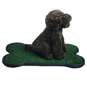 Perro De Entrenamiento De Orinal Pad, Césped Artificial Para Mascotas Patch Para Los Perros A