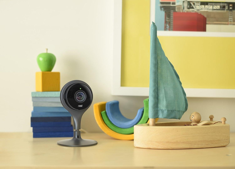 La caméra Nest dispose d'un angle de vue à 130°