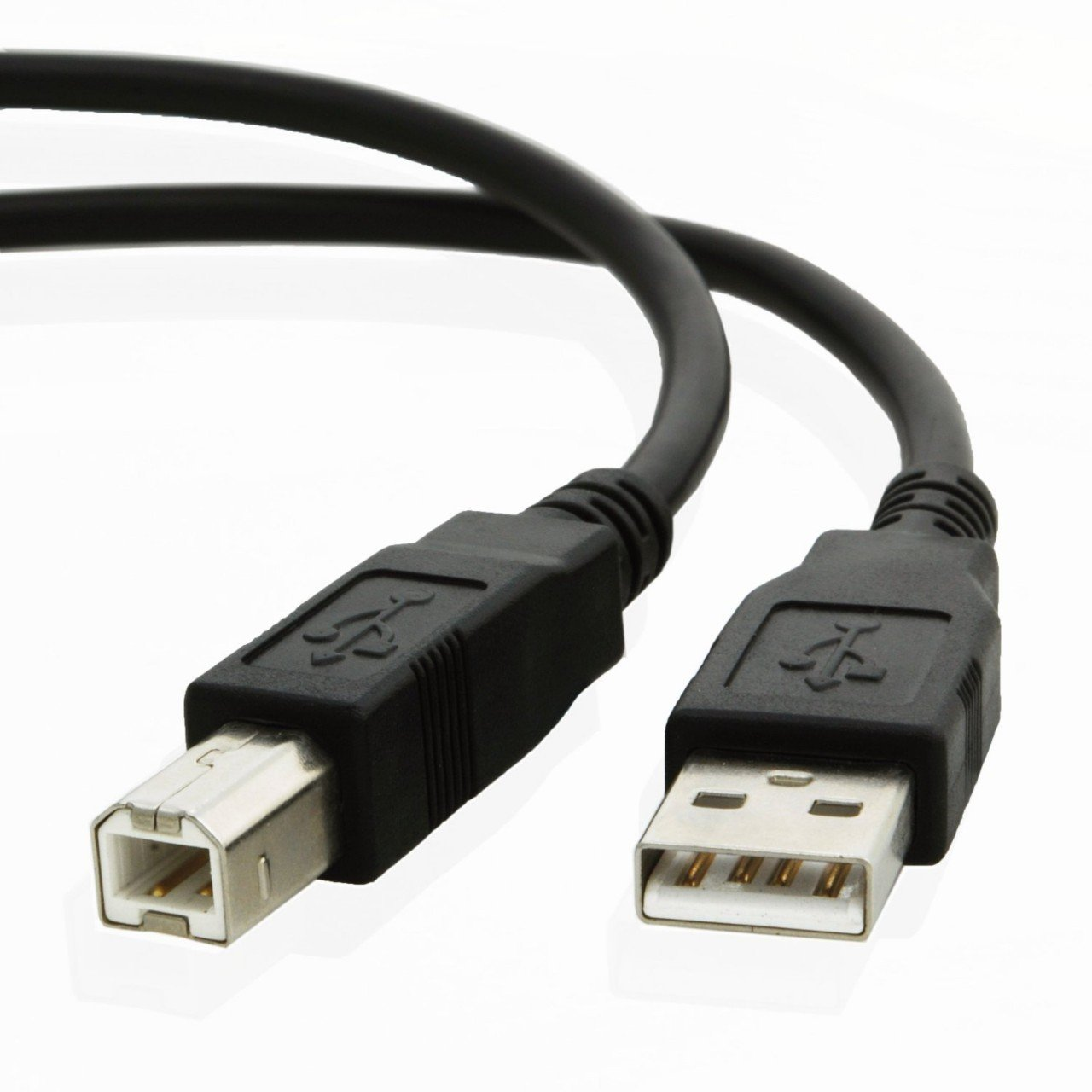 6ft USB Cable for Zebra LP 2824 Plus Monochrome Direct Thermal Label Printer