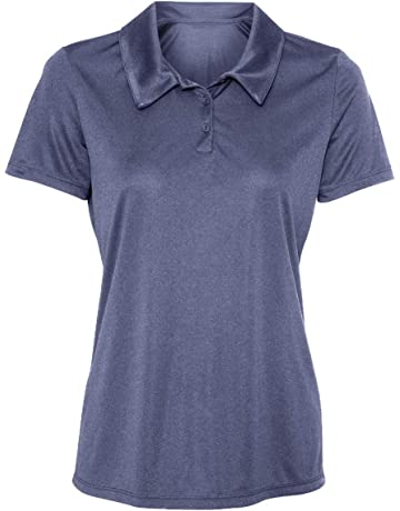 b1933ac099b Animal Den Women's Dry-Fit Golf Polo Shirts 3-Button Golf Polo's in 20