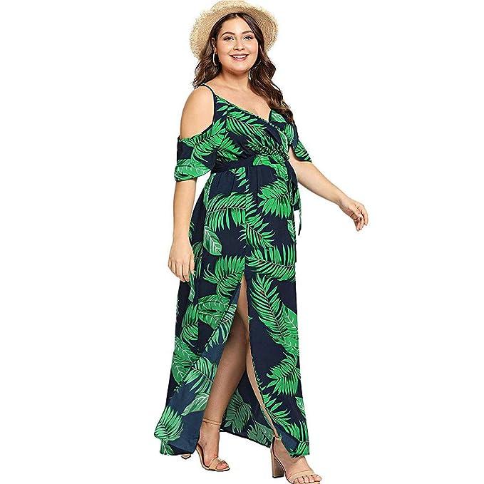 Amazon.com: CCatyam Vestido para mujer, casual, de verano ...