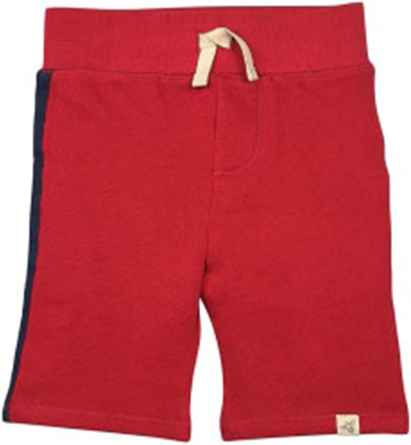 Burts Bees Baby Short with Racing Stripe