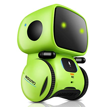 Amazon com: Robot Toy - Talking Interactive Voice Controlled