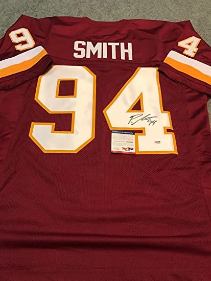 64792ca5c Preston Smith Autographed Signed Washington Redskins Jersey PSA DNA  Authentic