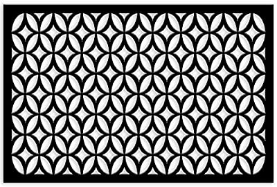 Acurio Lattice Moors Ellipses Outdoor Decor Panel Screen