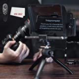 AMBITFUL Teleprompter Kit Portable Inscriber Mobile Phone Teleprompter Artifact Video with Remote Control for Phone and…