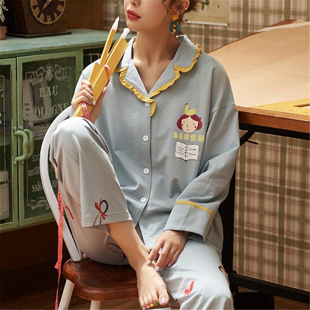 DUXIAODU Pijama de algodón para Mujer | no lastima la Piel | Suave ...
