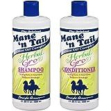 شامبو وبلسم الحصان بالأعشاب وزيت الزيتون Mane 'n Tail Herbal Gro Shampoo and Conditioner 2x800 ml