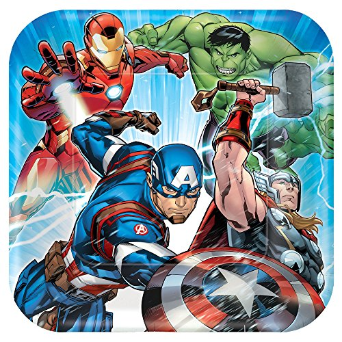Amscan 16 Ounce Marvel Avengers Superhero Comic Birthday Party Plastic Loot Treat Favor Cup Multi-colored One Size