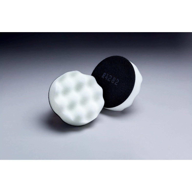 3M Finesse-it Buffing Pad 01963, 3 in White Foam
