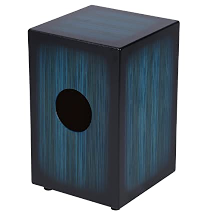 Musical Instruments Ammoon Cajon Hand Drum Wooden Box Drum Persussion Instrument Wood With Stings Rubber Feet Percussion Instruments
