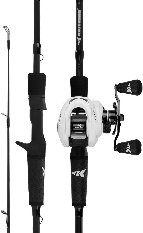 Lews Fishing, Custom Black LFS Baitcasting 1 Piece Combo
