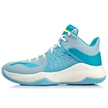 LI-NING Sonic Ⅶ TD On Court Men Basketball Shoes Light Foam Breathable TPU Support Lining Sport Shoes Sneakers Blue ABPP029 US 8.5