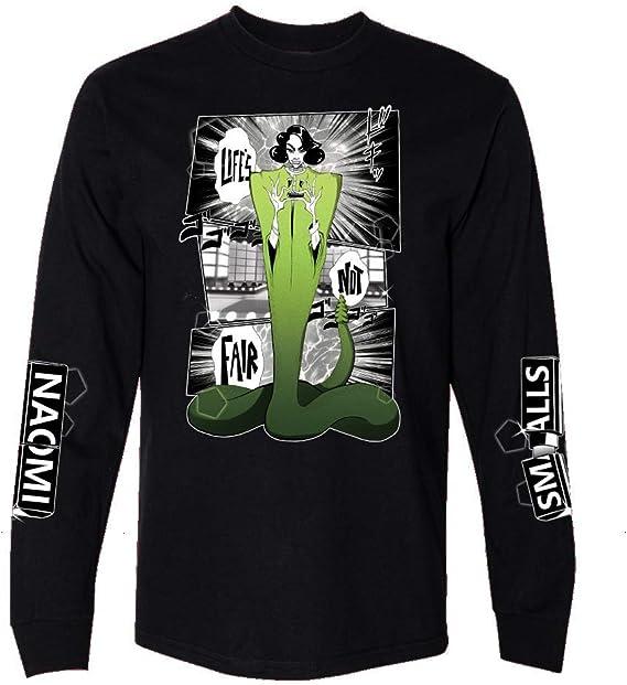 Camisa de Manga Larga de Naomi Smalls - Negro - XX-Large ...