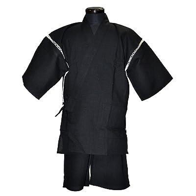 (グッズ) 紳士用 しじら織り甚平 全6柄 M-LLサイズ (Mサイズ, 3-は柄)